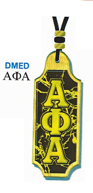 Alpha Phi Alpha Domed Medallion